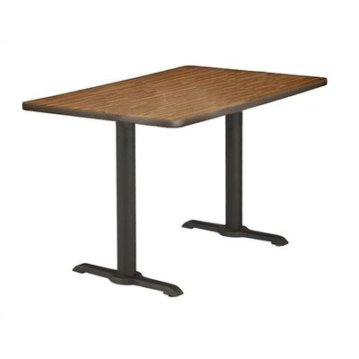 Virco Lunada Bi-Point Cast Iron Table Base
