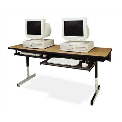 "Virco 8700 Series Computer Table (24"" x 48"")"