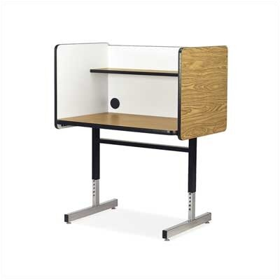 Virco 8700 Series Wood and Steel Study Carrel