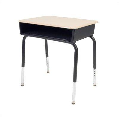 Virco Student Desk with Open Front Plastic Desk