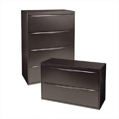 Virco Locking Four-Drawer Lateral File