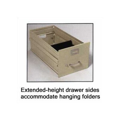 Virco Two-Drawer Vertical Letter File