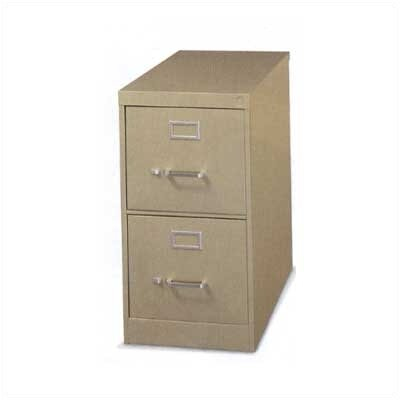 Virco Two-Drawer Vertical Legal File