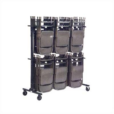 Virco Two Tier Folding Chair Truck/Storage Cart