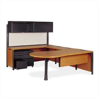 Virco Plateau U-Shape Desk Office Suite Kit 4