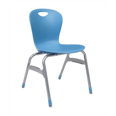 "Virco Zuma 18"" Plastic Classroom Stacking Chair"