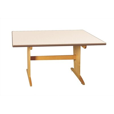 Virco Art Table with Plastic Laminate Top