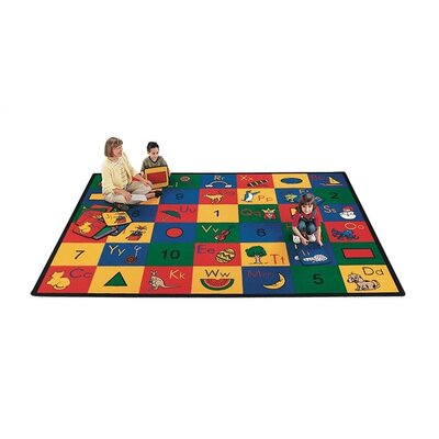 Virco Children's Blocks of Fun Kids Rug