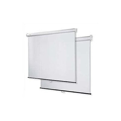 "Virco Matte White 70"" H x 70"" W Projection Screen"