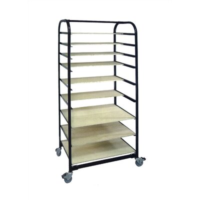 Virco 12 Plywood Shelves for Art Ware Cart