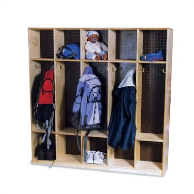 Virco 10-Section Double-Sided Locker