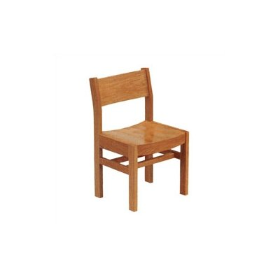 "Virco 17.5"" Wood Classroom Library Chair"