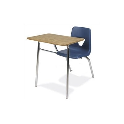 "Virco 2000 Series 31"" Plastic Combo Chair Desk"