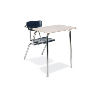 "Virco 3000 Series 29"" Laminate Chair Desk with Particleboard"