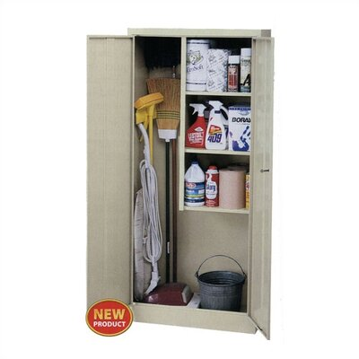 "Virco 30"" Janitor/Supply Cabinet"