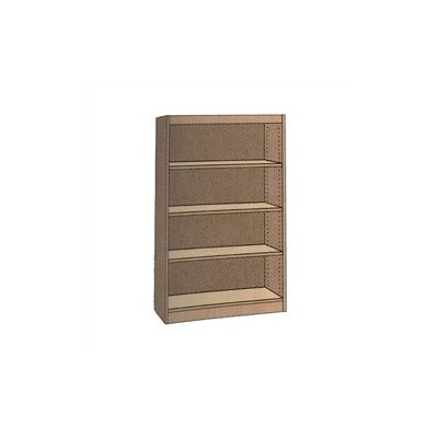 "Virco Single-faced Starter Library Shelving (60"" x 37"")"