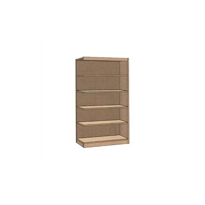 "Virco Single-faced Library Shelving Addition (72"" x 37"")"