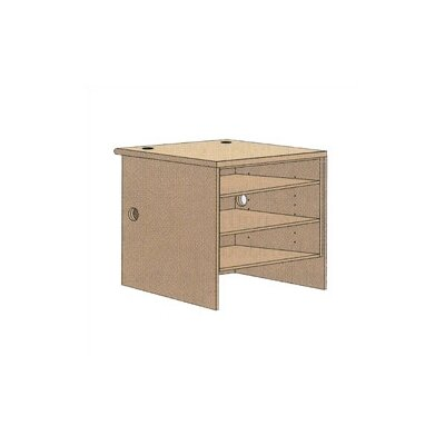 "Virco Open Shelf Unit (39"" x 36"")"