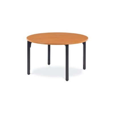 Virco Round Plateau Table with Casters