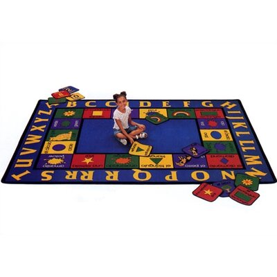Virco Children's Bilingual Kids Rug