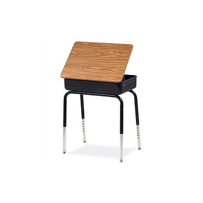 Virco Lift-Lid Laminate Student Desk