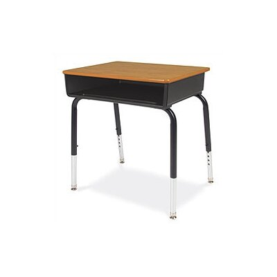 "Virco 18"" Laminate Open Front Student Desk"