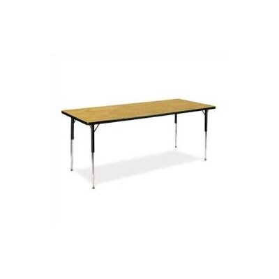 Virco 4000 Series Rectangular Activity Table (17&quot; - 25&quot; Short Adjustable Legs)