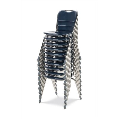 "Virco Telos Series 18"" Plastic Classroom Stacking Chair"