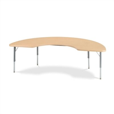 Virco 4000 Series Half-Moon Activity Table