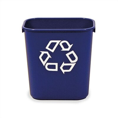 Virco Recycling Waste Basket