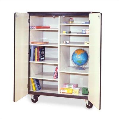 "Virco 48"" Mobile Storage Cabinet"