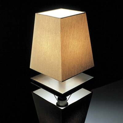"Contardi Quadra 12"" H Table Lamp with Square Shade"