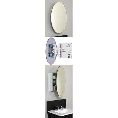 "American Pride Aluminum Body 20"" x 30"" Surface Mount Medicine Cabinet"