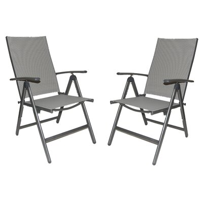 Wasatch Imports Reclining High Back Patio Chair (Set of 2)