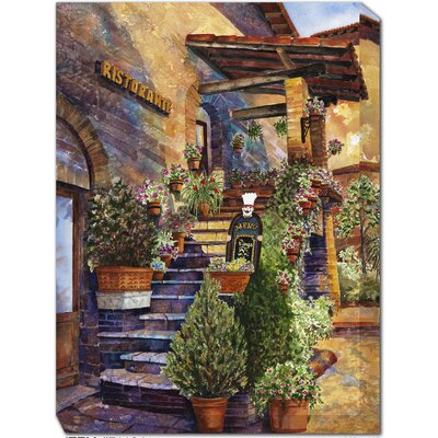 Restorante Assisi Outdoor Canvas Art