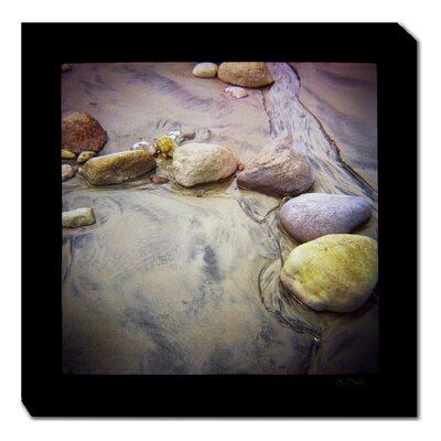 Sand and Stones Photographic Print on Canvas