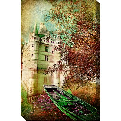 Bateau Vert Graphic Art on Canvas