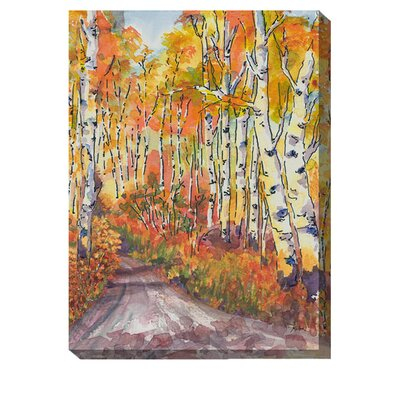 Ablaze Outdoor Canvas Art