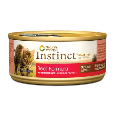 Instinct Grain-Free Beef Canned Cat Food