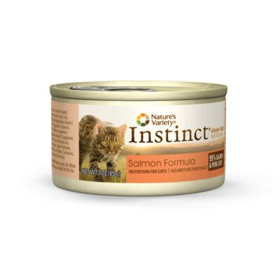 Nature's Variety Instinct Salmon Canned Cat Food