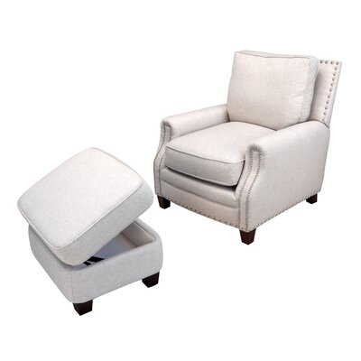 Bradford Chair And Ottoman Wayfair