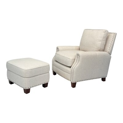 Bradford Chair and Ottoman