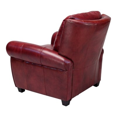 Opulence Home Max Leather Chair and Ottoman