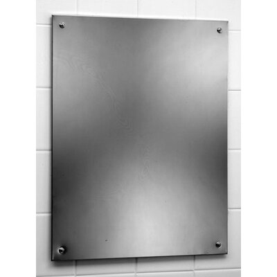 "Bobrick 23.5"" H x 17.5"" W Bathroom Mirror"