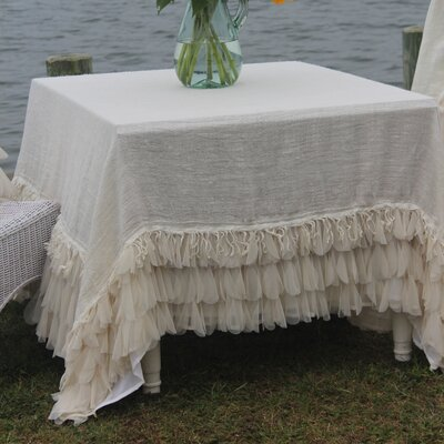 Chichi Square Linen Tablecloth
