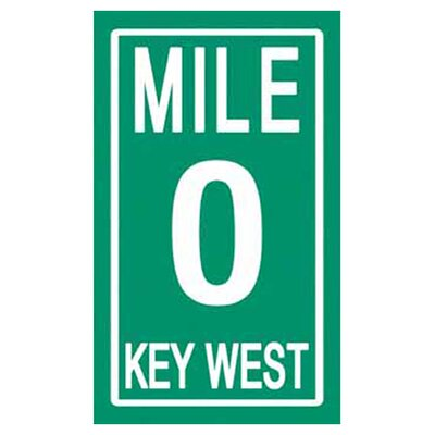 Kaufman Sales Mile Zero Key West Beach Towel