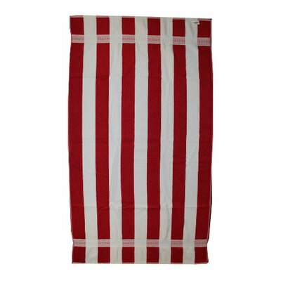 Joey Velour Stripe Beach Towel/Bath Sheet