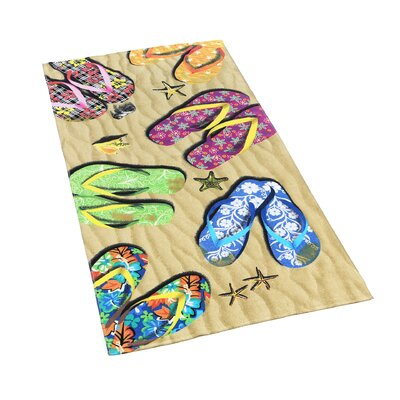 Kaufman Sales Sandals Beach Towel