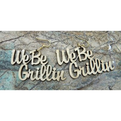 Green Tree Jewelry We Be Grillin Earrings