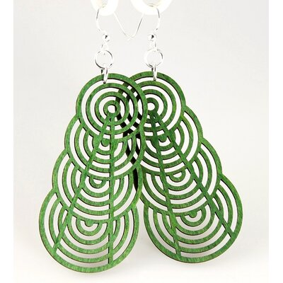 Ascending Interlocking Circles Earrings